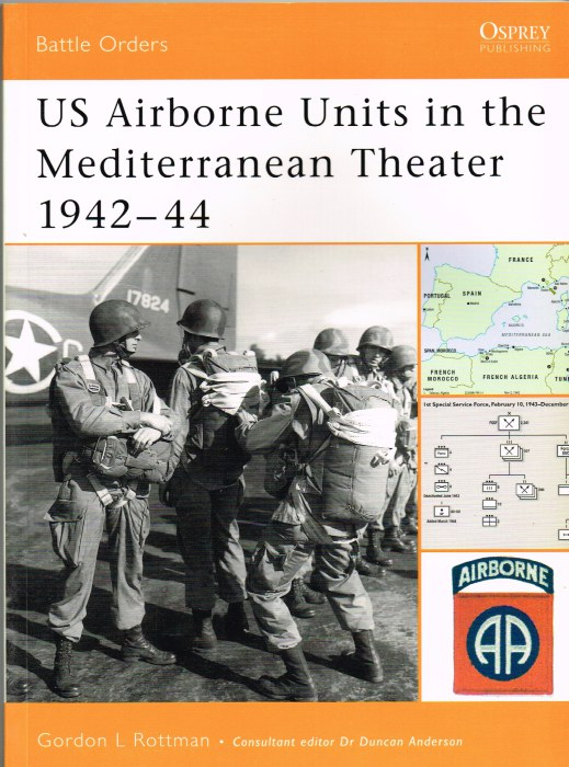Image for US AIRBORNE UNITS IN THE MEDITERRANEAN THEATRE 1942-44