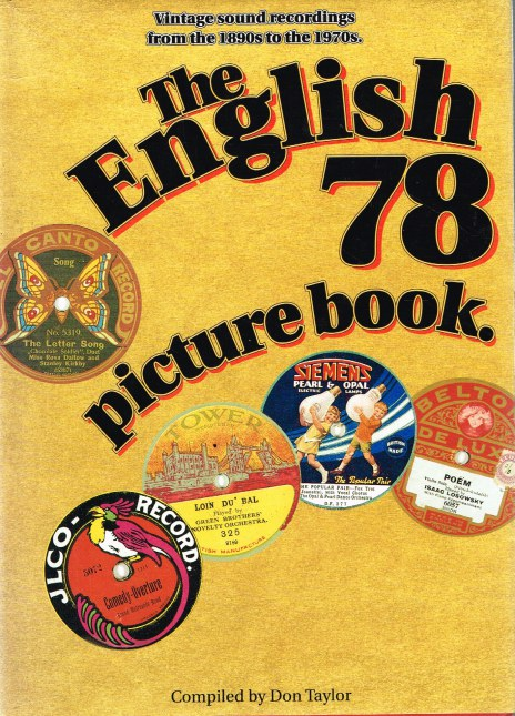 Image for THE ENGLISH 78 PICTURE BOOK : VINTAGE SOUND RECORDINGS FROM THE 1890S TO THE 1970S
