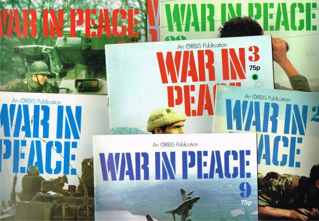 Image for WAR IN PEACE (BACK ISSUES IN STOCK)