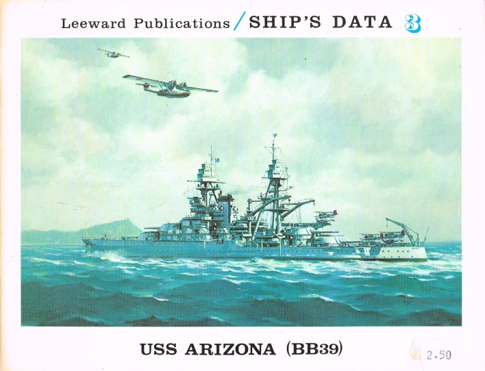 Image for SHIP'S DATA 3: USS ARIZONA (BB39)