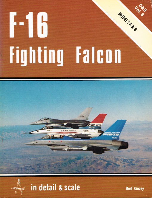 Image for DETAIL & SCALE VOL.3: F-16 FIGHTING FALCON