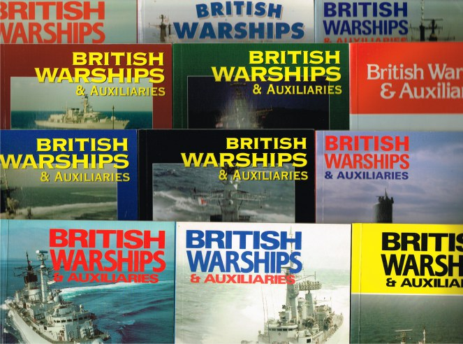 Image for BRITISH WARSHIPS & AUXILIARIES (BACK ISSUES IN STOCK)