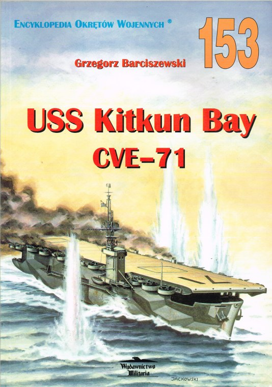 Image for USS KITKUN BAY CVE-71 (POLISH TEXT)