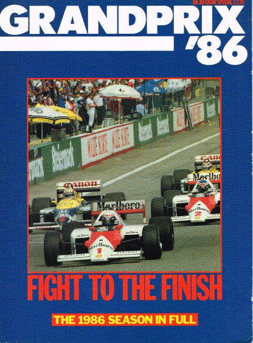 Image for GRAND PRIX '86 - AN AUTOCAR SPECIAL