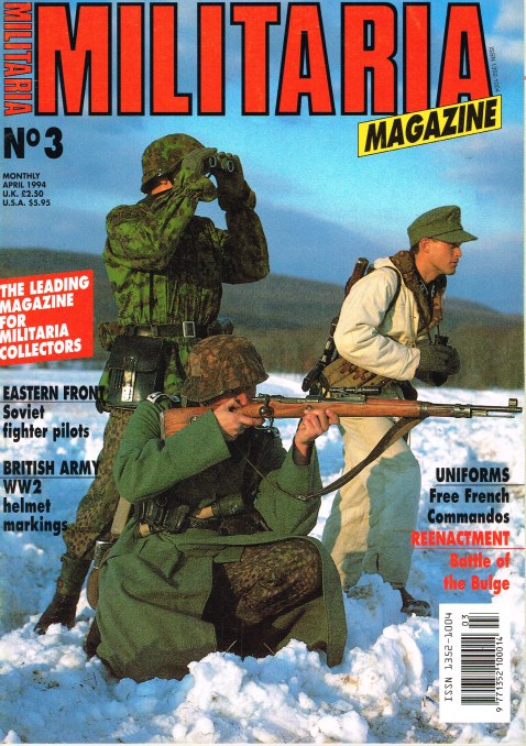 Image for MILITARIA MAGAZINE NO 3 : APRIL 1994