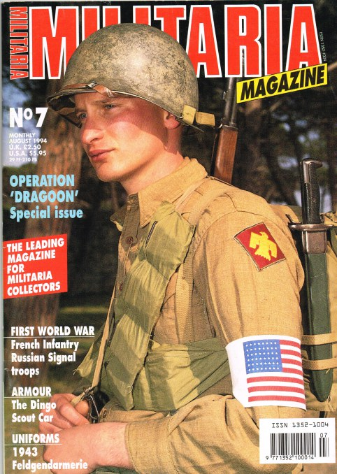 Image for MILITARIA MAGAZINE NO 7 : AUGUST 1994