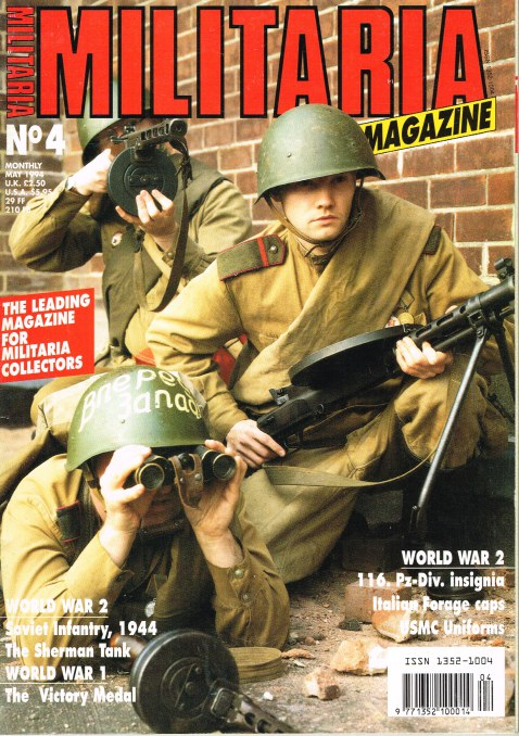 Image for MILITARIA MAGAZINE NO 4 : MAY 1994