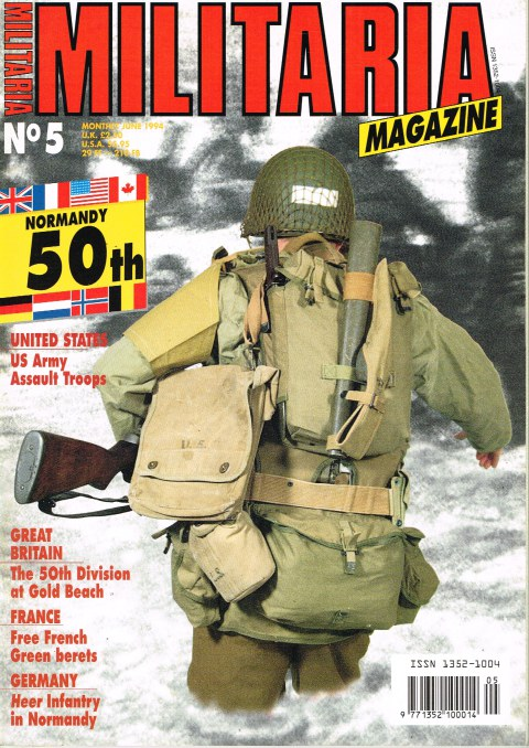 Image for MILITARIA MAGAZINE NO 5 : JUNE 1994