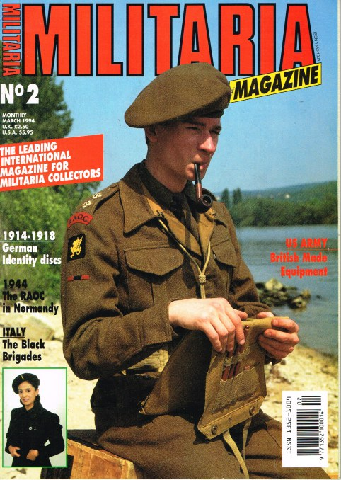 Image for MILITARIA MAGAZINE NO 2 : MARCH 1994