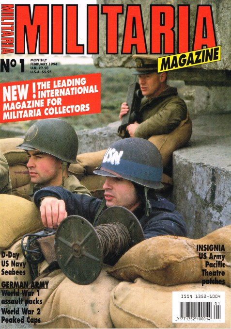 Image for MILITARIA MAGAZINE NO 1 : FEBRUARY 1994