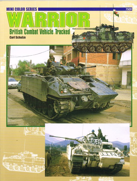 Image for WARRIOR: BRITISH COMBAT VEHICLE TRACKED