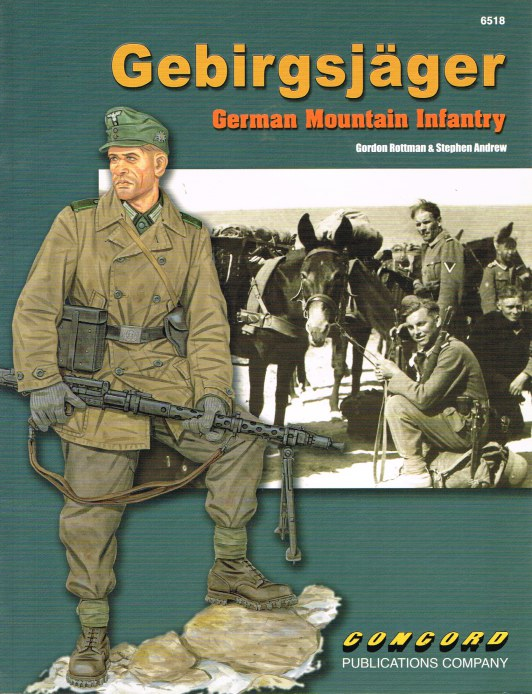 Image for GEBIRGSJAGER: GERMAN MOUNTAIN INFANTRY