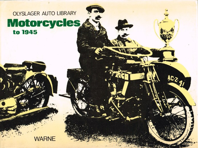 Image for MOTORCYCLES TO 1945