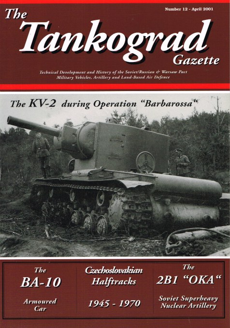Image for THE TANKOGRAD GAZETTE: NUMBER 12