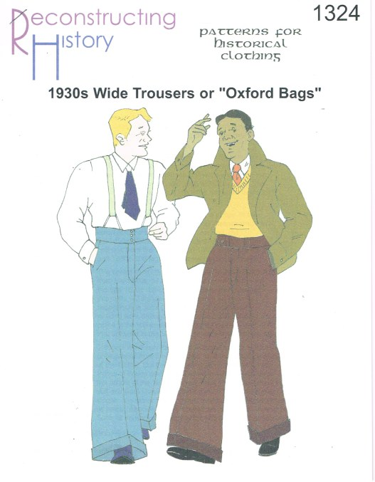 Image for RH1324: 1930S WIDE TROUSERS OR OXFORD BAGS