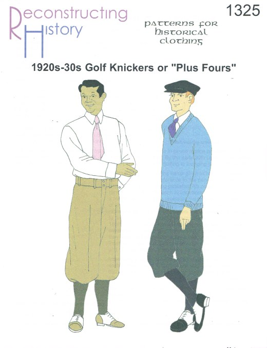 Image for RH1325: 1920S-1930S GOLF KNICKERS OR PLUS FOURS