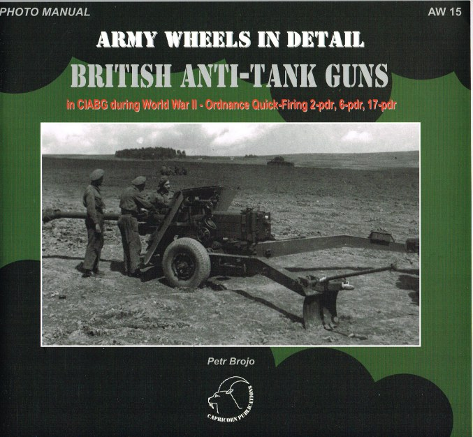 Image for ARMY WHEELS IN DETAIL: BRITISH ANTI-TANK GUNS