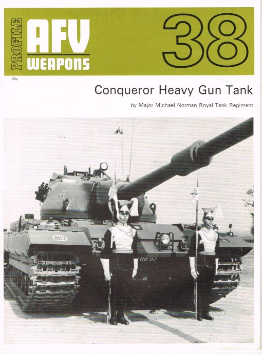 Image for PROFILE AFV 38: CONQUEROR HEAVY GUN TANK