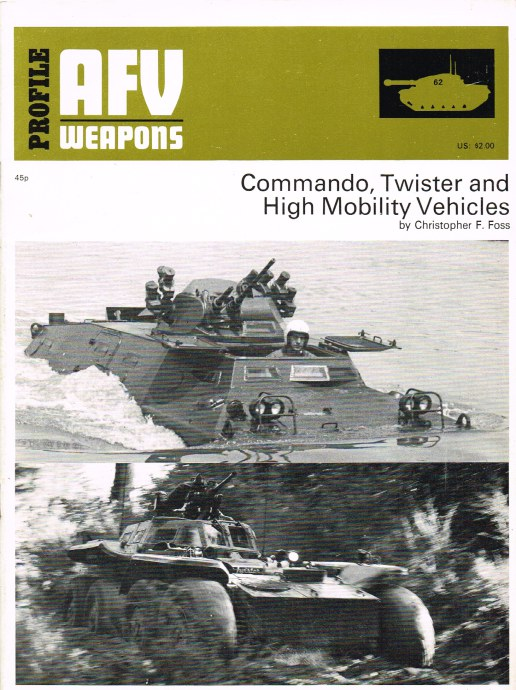 Image for PROFILE AFV 62: COMMANDO, TWISTER AND HIGH MOBILITY VEHICLES