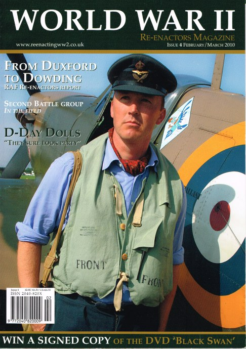 Image for WORLD WAR II RE-ENACTORS MAGAZINE ISSUE 4 FEBRUARY / MARCH 2010