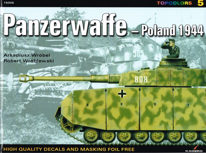 Image for MINI TOPCOLORS 5: PANZERWAFFE - POLAND 1944