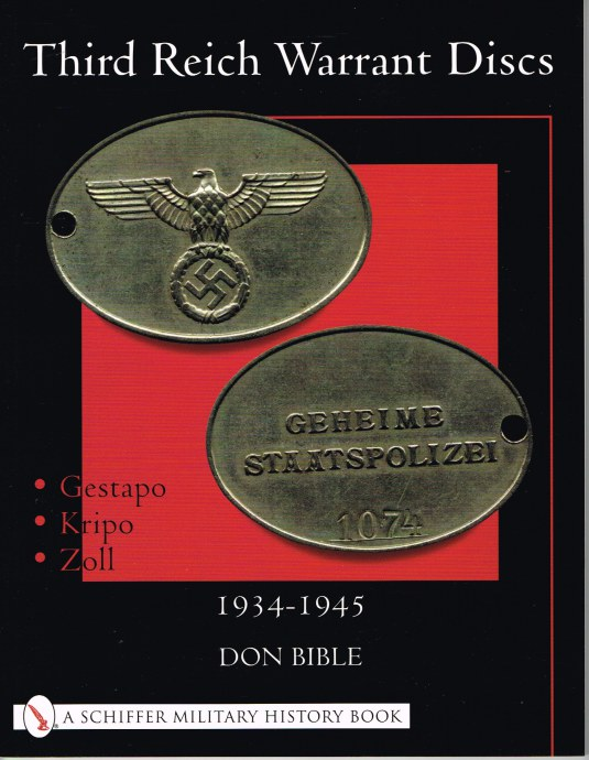 Image for THIRD REICH WARRANT DISCS 1934-1945