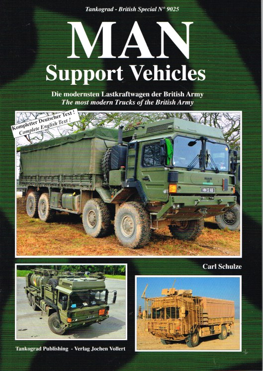 Image for MAN SUPPORT VEHICLES: THE MOST MODERN TRUCKS OF THE BRITISH ARMY