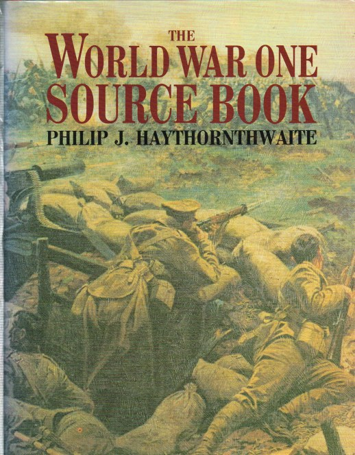 Image for THE WORLD WAR ONE SOURCE BOOK