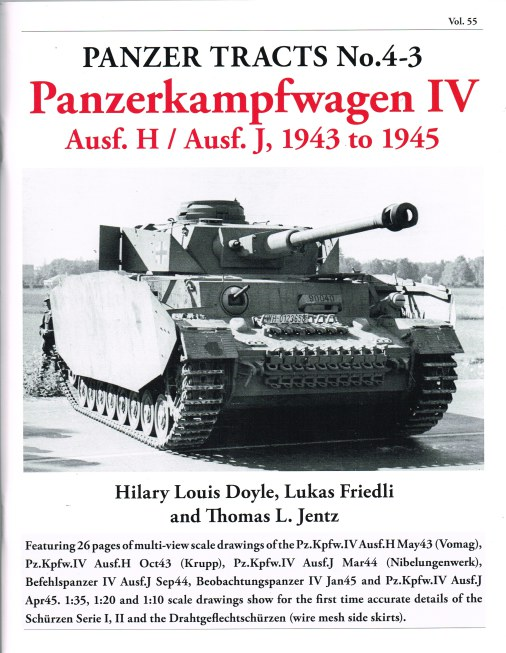 Image for PANZER TRACTS NO.4-3 : PANZERKAMPFWAGEN IV AUSF.H / AUSF.J 1943 TO 1945