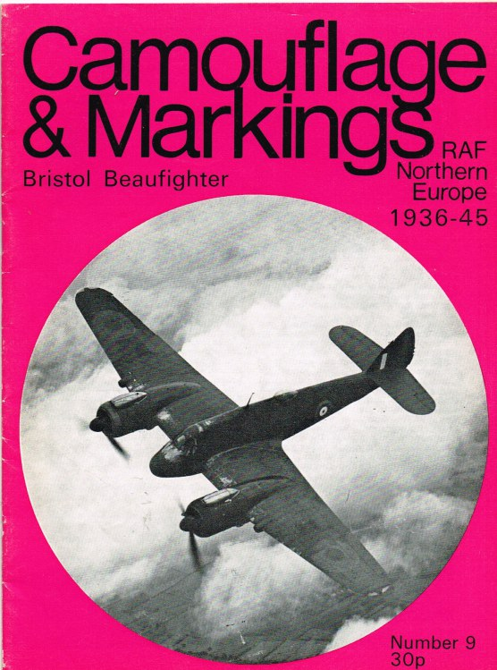 Image for CAMOUFLAGE & MARKINGS RAF NORTHERN EUROPE 1936-45 NO.9 : BRISTOL BEAUFIGHTER