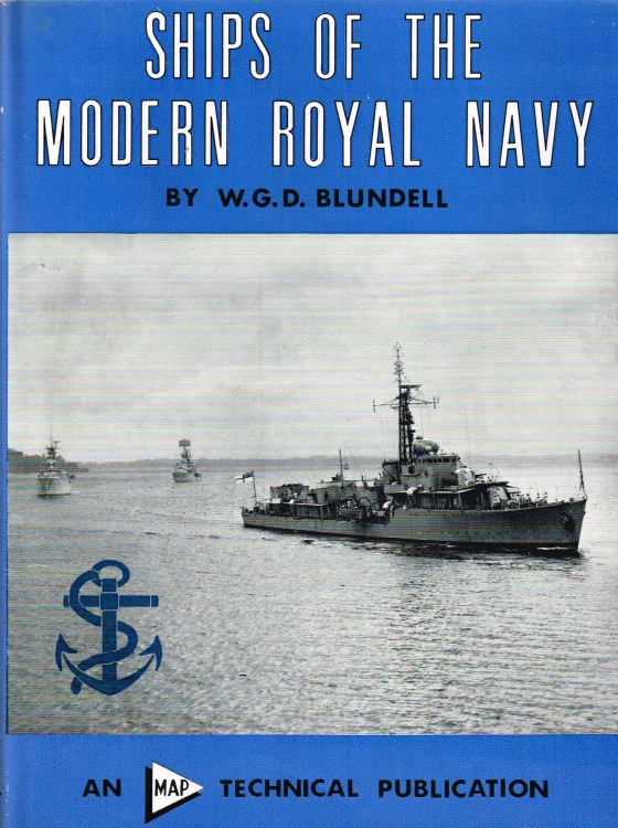 Image for SHIPS OF THE MODERN ROYAL NAVY