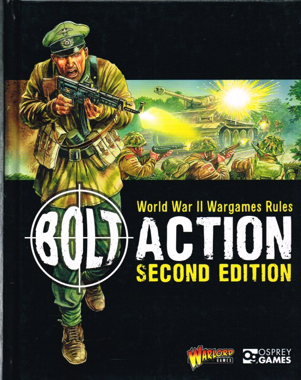 Image for BOLT ACTION SECOND EDITION: WORLD WAR II WARGAMES RULES