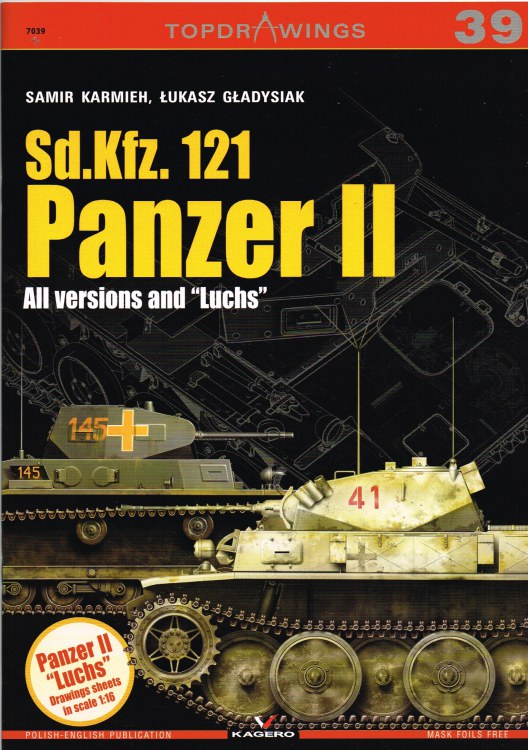 Image for TOPDRAWINGS 39: SD.KFZ.121 PANZER II - ALL VERSIONS AND 'LUCHS'