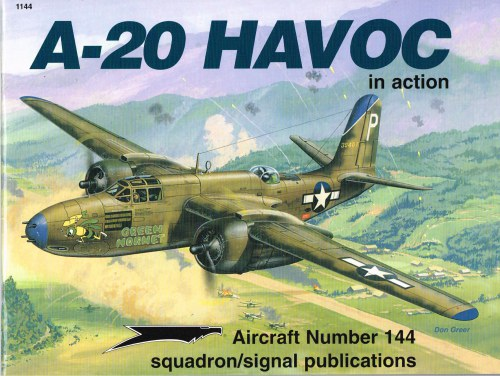 Image for A-20 HAVOC IN ACTION