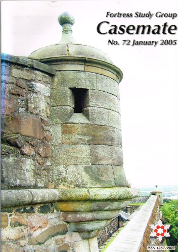 Image for CASEMATE FORTRESS STUDY GROUP NEWSLETTER NO.72 SEPTEMBER 2005