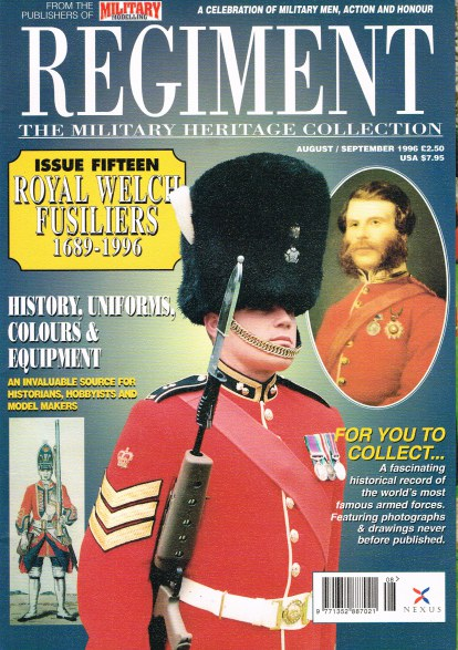 Image for REGIMENT: ISSUE FIFTEEN - ROYAL WELCH FUSILIERS 1689-1996
