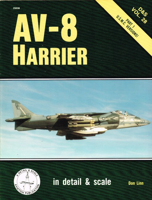 Image for DETAIL & SCALE VOL.28: AV-8 HARRIER