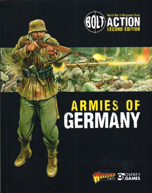 Image for BOLT ACTION SECOND EDITION: ARMIES OF GERMANY