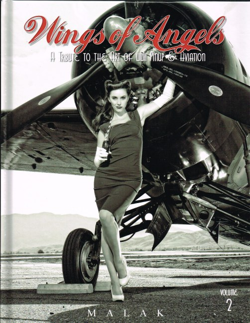 Image for WINGS OF ANGELS VOLUME 2: A TRIBUTE TO THE ART OF WWII PINUP & AVIATION