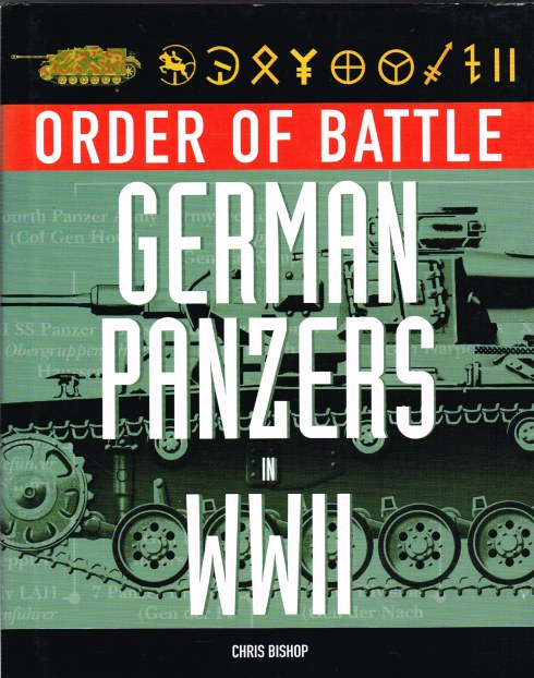 Image for ORDER OF BATTLE: GERMAN PANZERS IN WWII