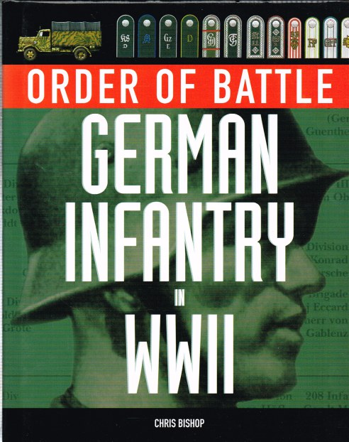 Image for ORDER OF BATTLE: GERMAN INFANTRY IN WWII