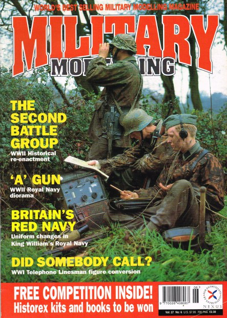 Image for MILITARY MODELLING: VOL 27, NO.6, 1997