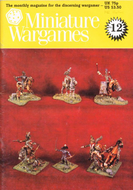 Image for MINIATURE WARGAMES NO.12
