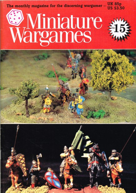 Image for MINIATURE WARGAMES NO.15