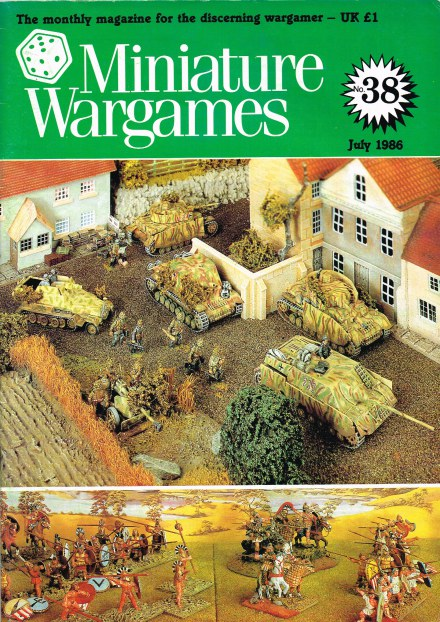 Image for MINIATURE WARGAMES NO.38