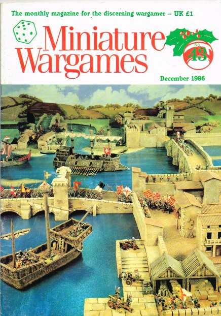 Image for MINIATURE WARGAMES NO.43