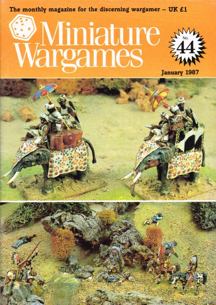 Image for MINIATURE WARGAMES NO.44