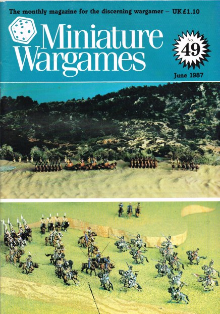 Image for MINIATURE WARGAMES NO.49