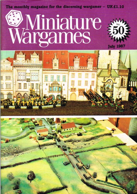 Image for MINIATURE WARGAMES NO.50