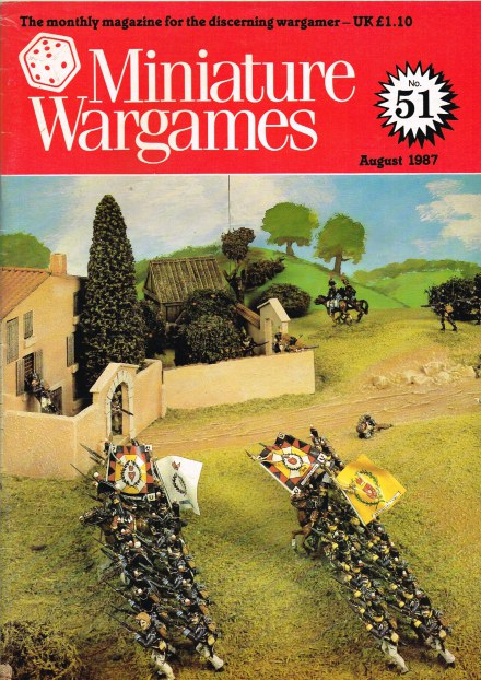 Image for MINIATURE WARGAMES NO.51